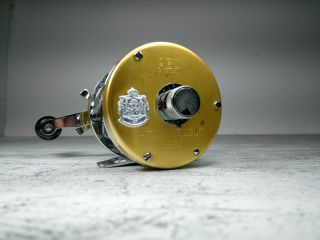 Abu Garcia Ambassadeur 5500 Champagne Gold Reel Made In Feb 1977 Only Very Rare