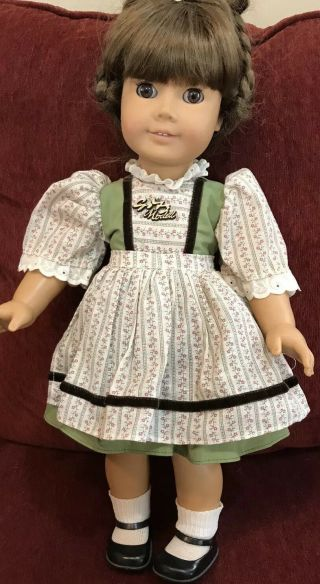 "Gotz Puppe Modell 18 "" Romina All Vinyl Articulated Doll W/ Outfit Rare"