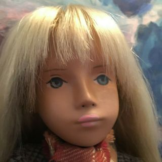 "Rare Vintage Sasha Serie 16 "" Doll Large Hang Tag Germany"