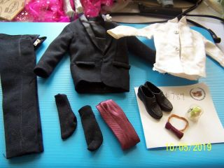 Vintage Ken Tux 787 Pants Jacket Shoes