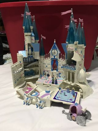 Vintage 1996 Disney Trendmasters Polly Pocket Cinderella Play Castle