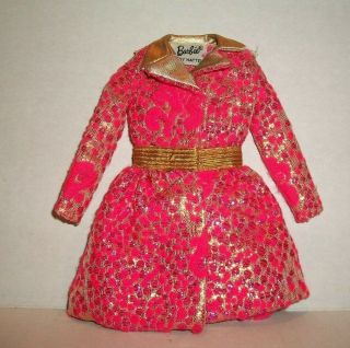 Vintage Barbie Special Sparkle Coat Only 1468 Mod Era 1970 Tlc Displays
