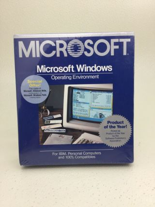 Special For Natalinojr - Microsoft Windows 1 1.  03 Vintage Rare