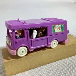 1994 Vintage Polly Pocket - Stable On The Go Horse Trailer - Complete Bluebird Toys