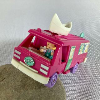 1994 Vintage Polly Pocket - Home On The Go/rv Camper - 100 Complete - Bluebird Toys