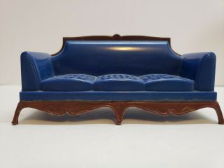 Vintage Reliable Dollhouse Miniature Sofa 1:16 Scale