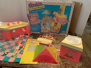 1987 Barbie Ice Cream Shoppe By Mattel