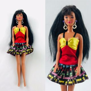 Vintage Kira Friend Of Barbie 1997 Pearl Beach 18580 With Replacement Outfit