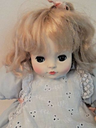 "Vintage Royal House Of Dolls 19 "" Baby Doll Blond Hair Blue Eyes"