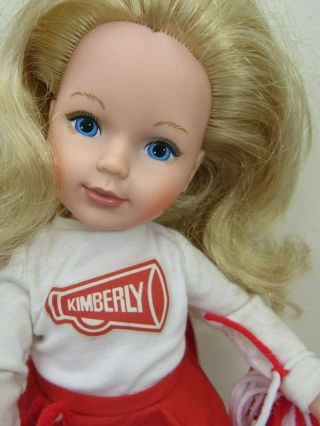 Vintage 1983 Tomy Kimberly Doll Cheerleader All
