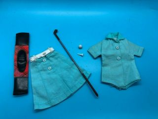 1964 Ideal Tammy Doll Tee Time Outfit Accessories Vintage