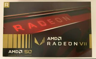 Amd Radeon Vii 16gb 50th Anniversary - - Red Limited Edition Rare