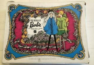 Vintage 1968 The World Of Barbie Double Doll Case