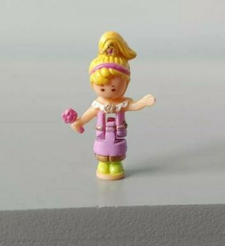 1996 Vintage Bluebird Polly Pocket Jewel Magic Ball Replacement Doll Figure