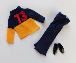 Vintage Ken Doll 8616 Best Buy Clothes 73 Outfit K372