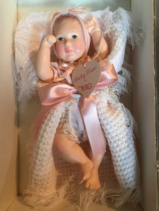 "Effanbee Doll Baby Lisa By Astri 9 "" Long W/box & Hang Tag"