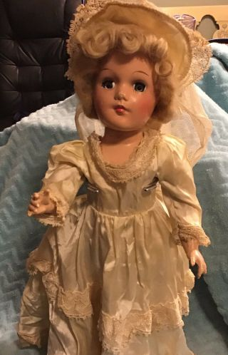 Antique Bride Doll