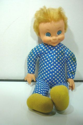 Vintage Mrs.  Beasley Doll Needs Work 1967
