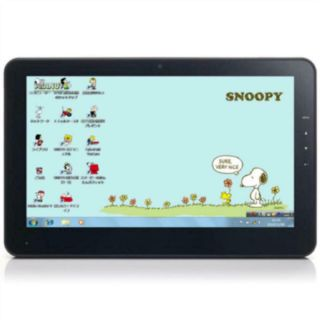 Snoopy Peanuts 60th Anniversary Limited Mobile Laptop Onkyo Very Rare Japan