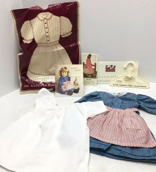 1986 Pleasant Company/american Girl Kristen Larson Blue Meet Dress