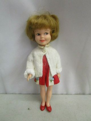 Vintage 1963 Deluxe Reading Corporation Penny Brite Doll 8 ""