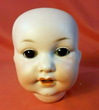 Armand Marseille Germany 329 7 Doll Head W/sleep Eyes
