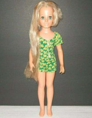"Vintage Ideal Kerry Doll Crissy Family Hair Grows 18 "" Mod"