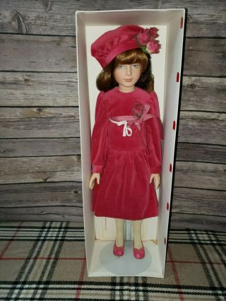 Tonner Doll Vintage Kaylie 40/500 Velvet Dress 17
