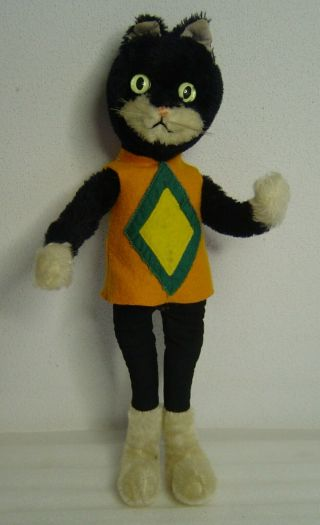 Cute Vintage Schuco Bigo - Bello Hegi Mohair Tom Cat