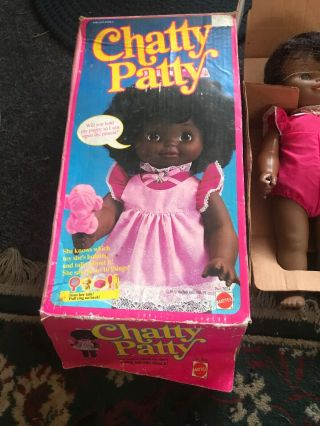 Chatty Patty Black African American Doll