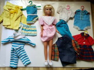 Vintage Skipper Doll - Blonde - - Barbie