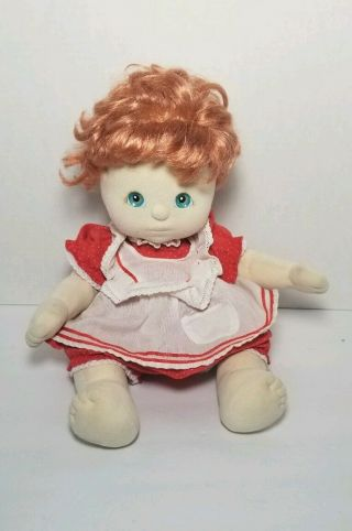 Vintage My Child Doll Red Hair Blue Eyes Mattel 1985 14 ""