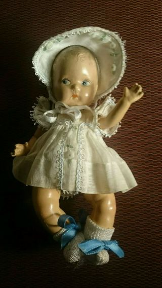 "7 "" Vintage Composition Baby Doll"