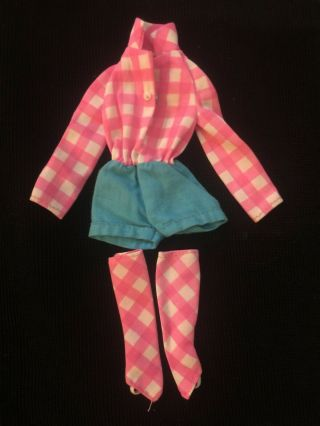 1972 Mattel Barbie Friend Talking Busy Steffie Outfit 1186