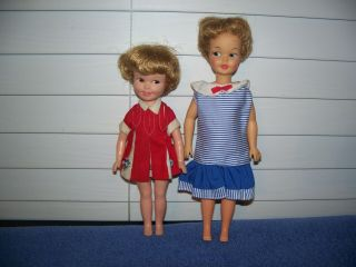 Vintage Ideal Pepper & Penny Brite Deluxe Reading Dolls