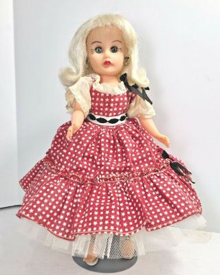 Vintage Arranbee R&b Little Miss Coty Circle P Doll In Htf Square Dance Dress