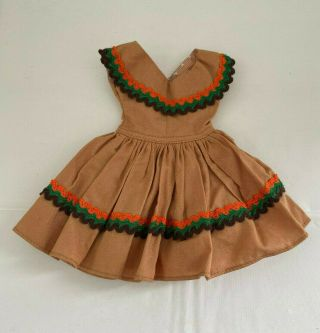 Vintage Mary Hoyer Doll Dress Tagged Fits 12 - 15 Inch Doll