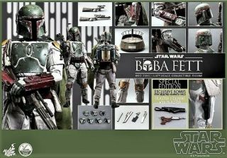 Hot Toys Star Wars Epvi Return Of The Jedi Boba Fett Special Exclusive Edition