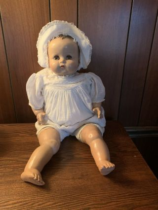 Vintage Ideal Baby Doll Large 26 Inches