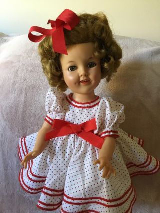 "Shirley Temple Doll 17"" Tall"