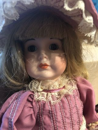 Bradleys Antique Porcelain Doll