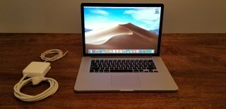 Rare 2013 - 2014 15 Macbook Pro Retina 2.  7 - 3.  7ghz I7 16gb 500gb Ssd 16 Cycles Max
