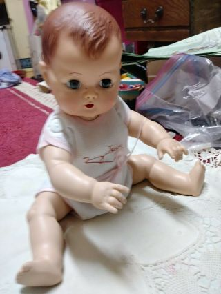 Vintage 12 Inch Tiny Tears Doll