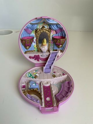 Vintage Polly Pocket Bluebird Ballerina Grand Ballet Pink Compact Complete Doll