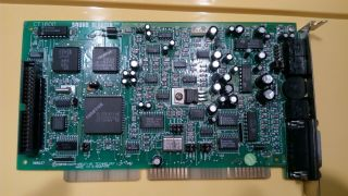 Ct1600 Sound Blaster Pro 2.  Rare Isa 16 Sound Card