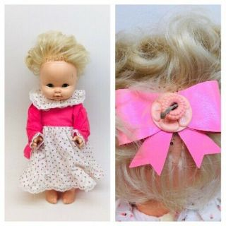 "Mattel Baby Tender Love 21 "" Talking Doll Softina ? Drink And Wet Vintage 1969 Mx"