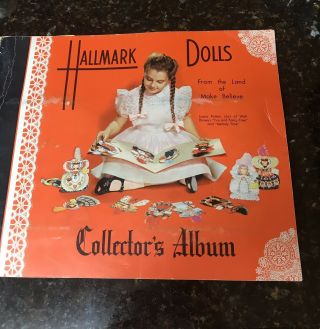 Vintage 1948 Hallmark Paper Dolls Book Complete With All 16 Dolls
