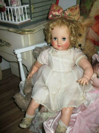 Vintage Doll Vinyl Marked Alexander 21