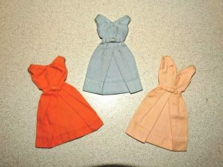 Barbie: Vintage Pak Blue Pink Coral Campus Belle Dresses
