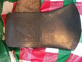 Rare Kelly Black Raven Axe True Temper Axe